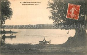 AK / Ansichtskarte Allonnes Saumur Grand Etang du Bellay Kat. Allonnes