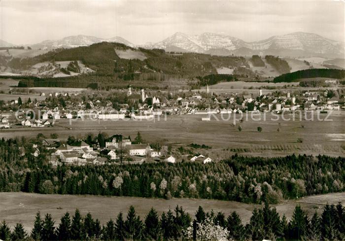 AK / Ansichtskarte Isny Allgaeu Panorama Neutrauchburg Kat. Isny im Allgaeu