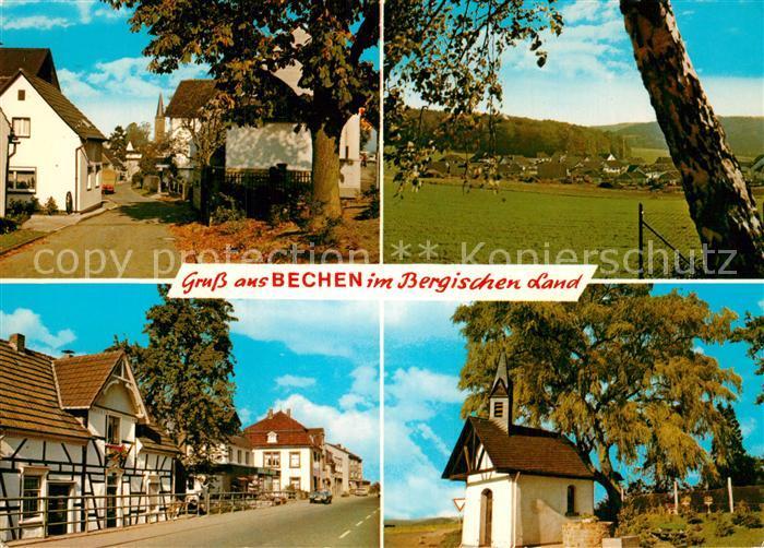 Bechen Rheinland Kapelle Teilansicht Stadtansichten  Kat. Kuerten