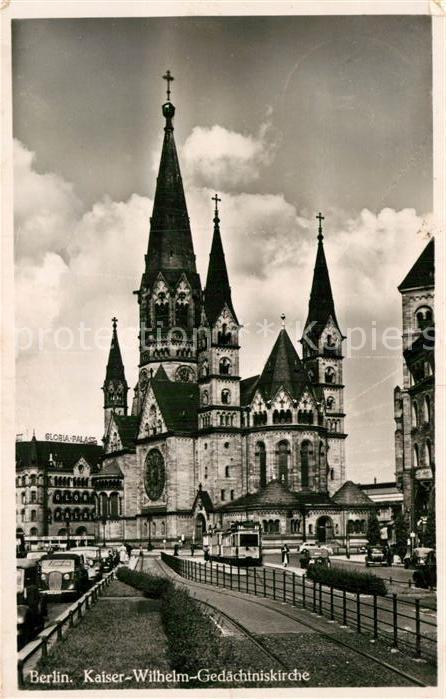 AK / Ansichtskarte Berlin Kaiser Wilhelm Gedaechtnis Kirche Kat. Berlin