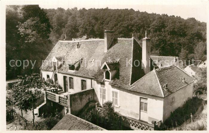 AK / Ansichtskarte Gargilesse Dampierre Maison de George Sand Kat. Gargilesse Dampierre