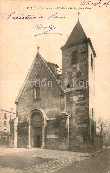 AK / Ansichtskarte Puteaux Kirche Kat. Puteaux