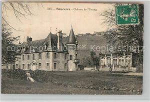 AK / Ansichtskarte Sancerre Chateau Estang Kat. Sancerre