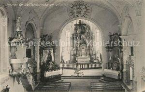 AK / Ansichtskarte Todtmoos Inneres der Wallfahrtskirche  Kat. Todtmoos