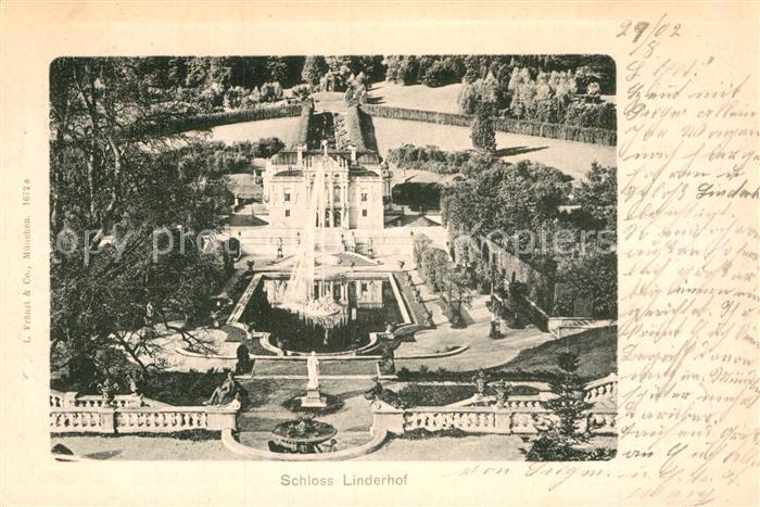 AK / Ansichtskarte Linderhof Ettal Schloss Linderhof Kat. Ettal