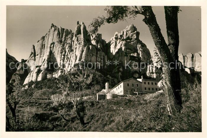 AK / Ansichtskarte Montserrat Kloster Monasterio de Sta Cecilia Kat. Spanien