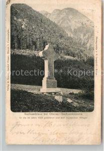AK / Ansichtskarte Oberau Berchtesgaden Sachsenkreuz Sachsenklemme Kat. Berchtesgaden