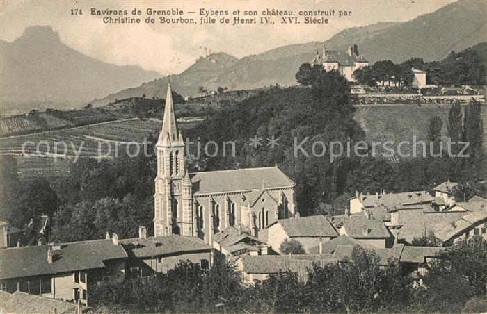 AK / Ansichtskarte Eybens Chateau Eglise Kat. Eybens