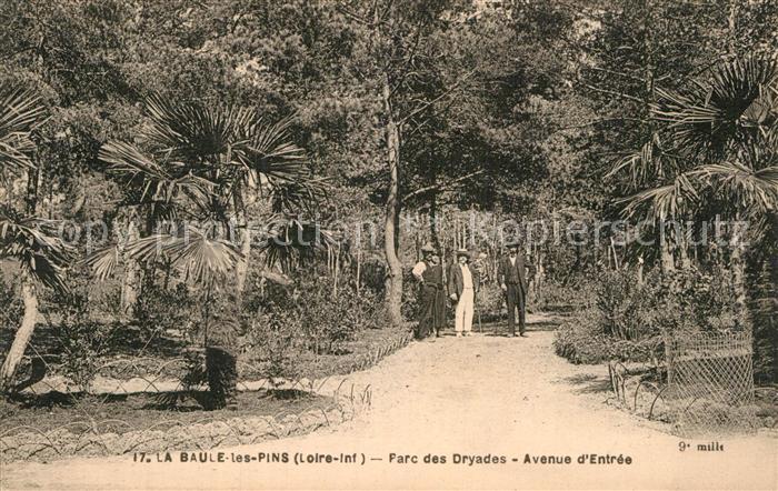 AK / Ansichtskarte La Baule les Pins Parc des Dryades Avenue d Entree Kat. La Baule Escoublac
