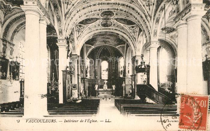 AK / Ansichtskarte Vaucouleurs Interieur de l Eglise Kat. Vaucouleurs