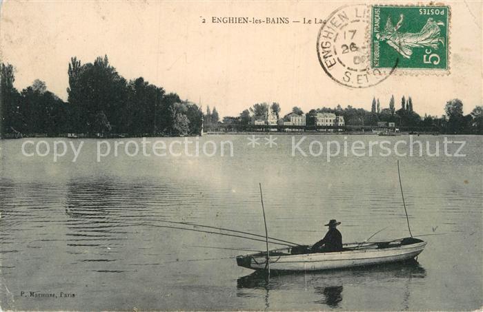 AK / Ansichtskarte Enghien les Bains Le Lac Kat. Enghien les Bains