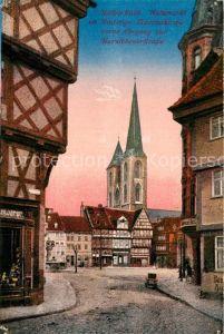 AK / Ansichtskarte Halberstadt Holzmarkt Martinikirche Kat. Halberstadt
