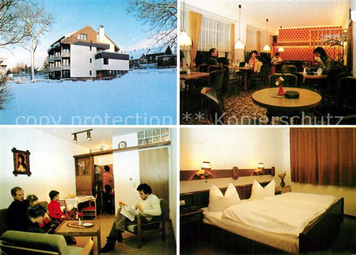 AK / Ansichtskarte Lutzerath Ferien Appartementhaus Schommers Kat. Lutzerath