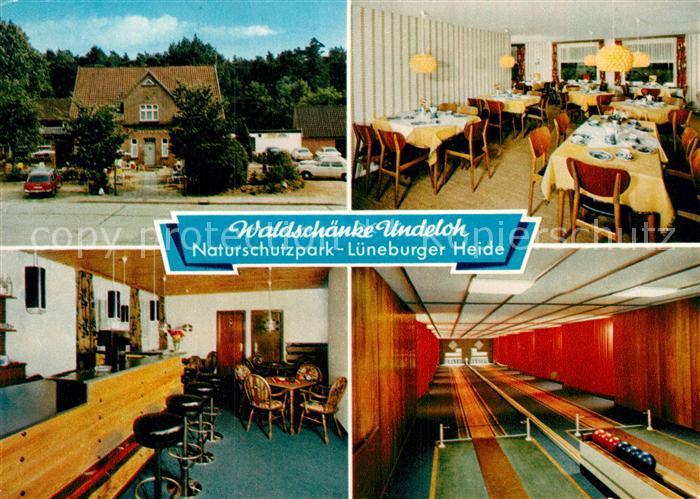 AK / Ansichtskarte Undeloh Gasthaus Pension Waldschaenke Kat. Undeloh