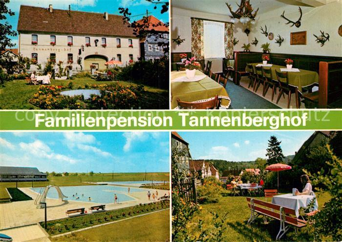 AK / Ansichtskarte Neuses Bundorf Familienpension Tannenberghof Kat. Bundorf