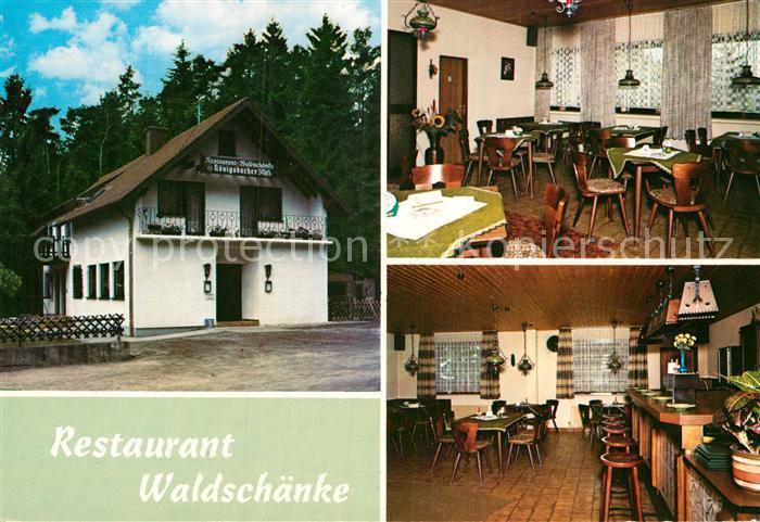 AK / Ansichtskarte Alflen Restaurant Waldschaenke Kat. Alflen Nr ...
