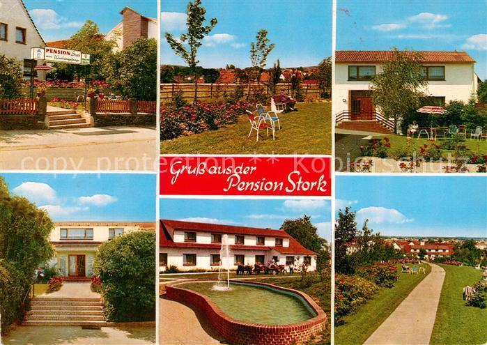 Ak Ansichtskarte Bad Holzhausen Luebbecke Pension Stork Kat