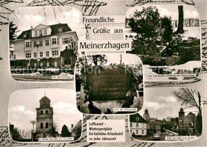 AK / Ansichtskarte Meinerzhagen Amt Evangelische katholische Kirche Volmequelle Kat. Meinerzhagen