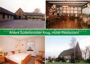 AK / Ansichtskarte Altenesch Gasthof Ahlers Suederbrooker Krug Kat. Lemwerder