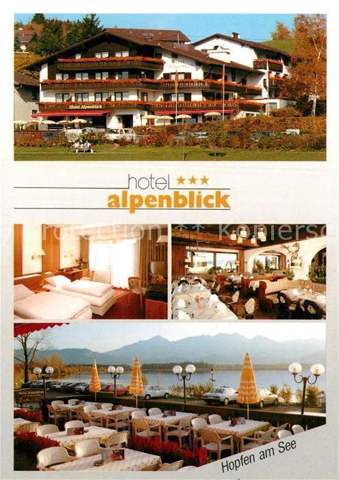 AK / Ansichtskarte Hopfen See Hotel Alpenblick Kat. Fuessen