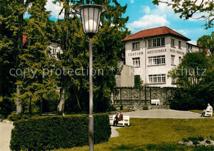 AK / Ansichtskarte Koenigstein Taunus Hotel Pension Gottschalk Kat. Koenigstein im Taunus