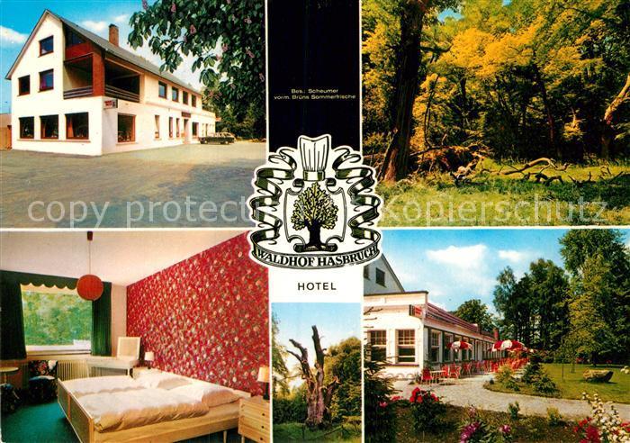 AK / Ansichtskarte Bookholzberg Hotel Hasbruch Kat. Ganderkesee