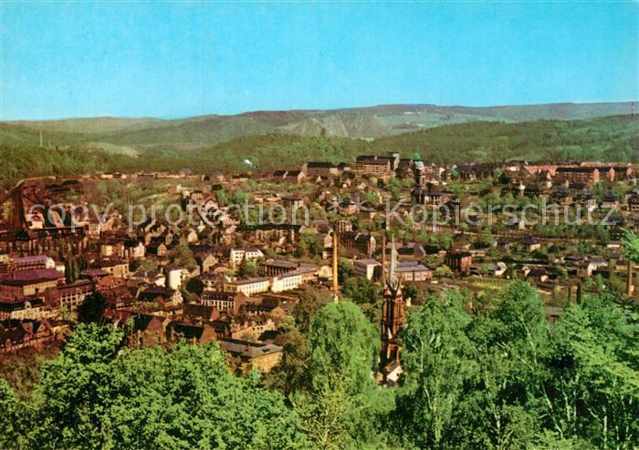 AK / Ansichtskarte Aue Erzgebirge Blick vom Heidelberg Kat. Aue