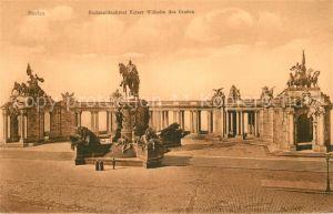 AK / Ansichtskarte Berlin Nationaldenkmal Kaiser Wilhelm des Grossen Kat. Berlin