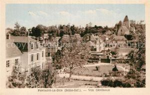 AK / Ansichtskarte Fontaine le Dun Vue generale Eglise Kat. Fontaine le Dun