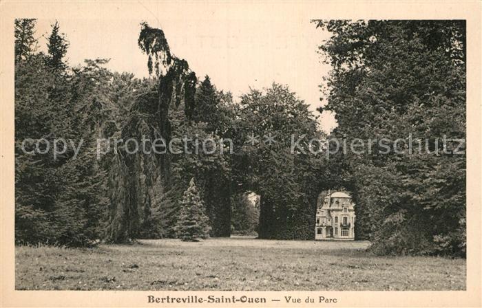 AK / Ansichtskarte Bertreville Saint Ouen Vue du Parc Kat. Bertreville Saint Ouen