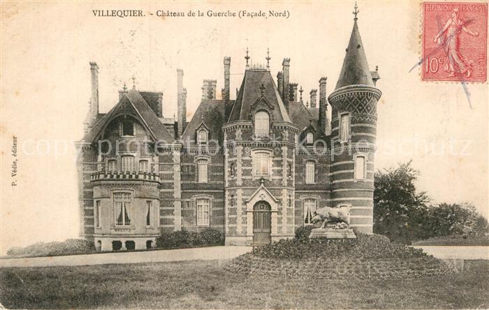 AK / Ansichtskarte Villequier Chateau de la Guerche facade nord Kat. Villequier