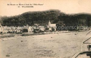 AK / Ansichtskarte Villequier De Rouen au Havre a bord du