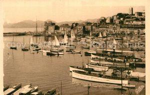 AK / Ansichtskarte Cannes Alpes Maritimes Le Port de Plaisance Cote d Azur Kat. Cannes