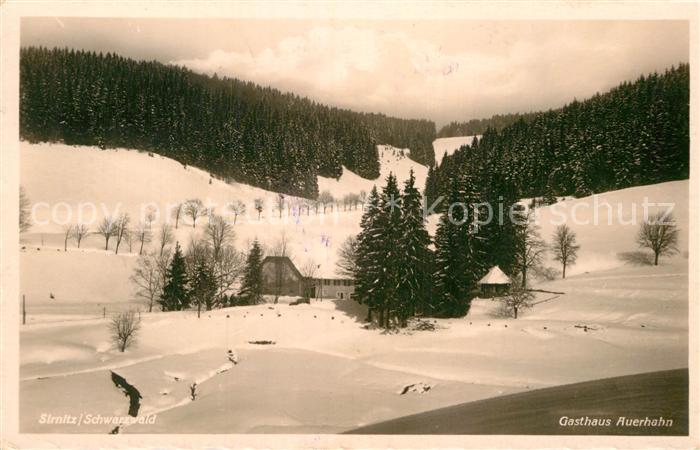 AK / Ansichtskarte Sirnitz Badenweiler Gasthaus Auerhahn