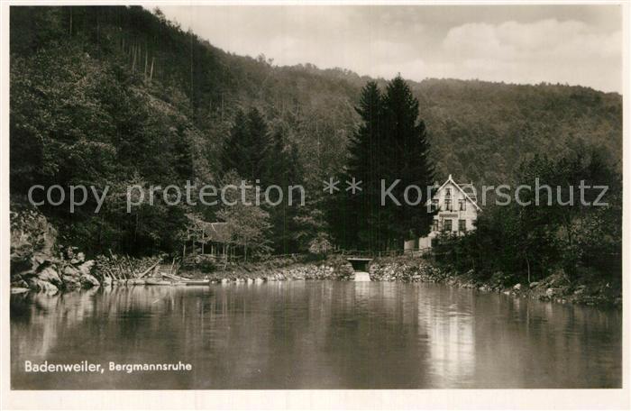 AK / Ansichtskarte Badenweiler Bergmannsruhe Kat. Badenweiler