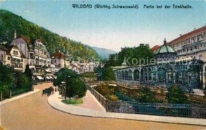 AK / Ansichtskarte Bad Wildbad Partie an der Trinkhalle  Kat. Bad Wildbad