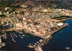 AK / Ansichtskarte Bastia Le vieux aerienne port et la ville Kat. Bastia