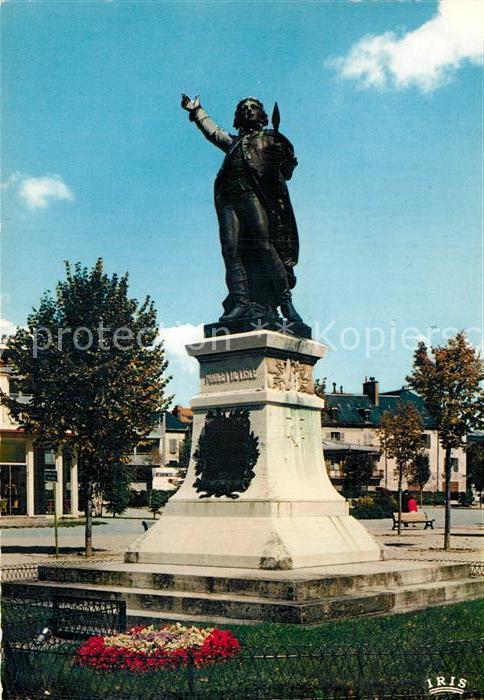 AK / Ansichtskarte Lons le Saunier Jura Statue de Rouget de Lisle Kat. Lons le Saunier