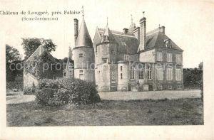AK / Ansichtskarte Falaise Calvados Chateau de Longpre Kat. Falaise