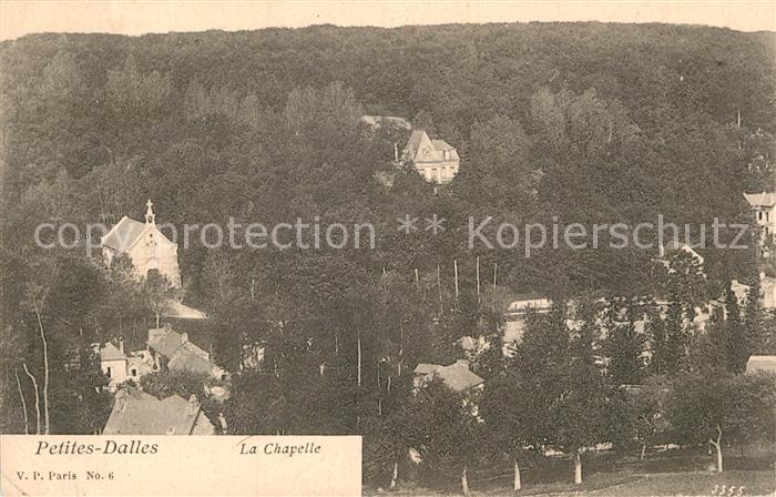 AK / Ansichtskarte Petites Dalles Les Chapelle Kat. Cote d Albatre