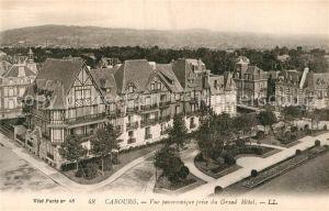 AK / Ansichtskarte Cabourg Vue panoramique prise du Grand Hotel Kat. Cabourg