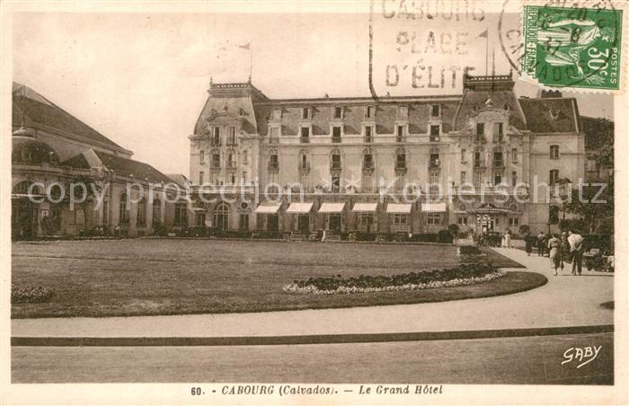 AK / Ansichtskarte Cabourg Grand Hotel Kat. Cabourg