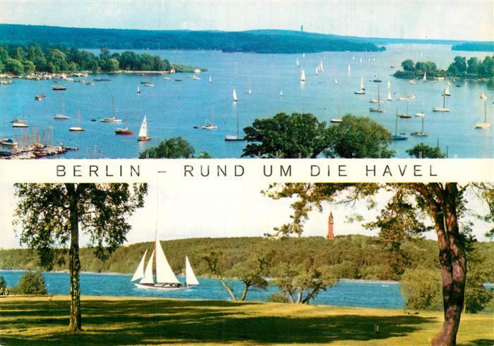 AK / Ansichtskarte Berlin Rund um die Havel Kat. Berlin