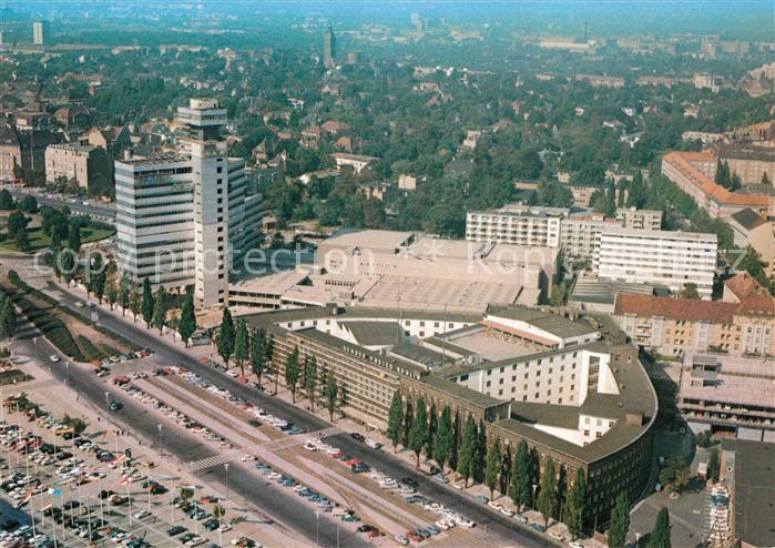AK / Ansichtskarte Berlin Blick vom Funkturm auf die Stadt Kat. Berlin