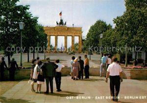 AK / Ansichtskarte Berlin Brandenburger Tor Kat. Berlin
