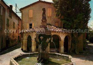 AK / Ansichtskarte Mollans La Vieille Fontaine Comtadine et le Lavoir Kat. Mollans