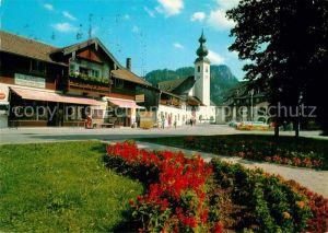 AK / Ansichtskarte Inzell Dorfplatz Kat. Inzell