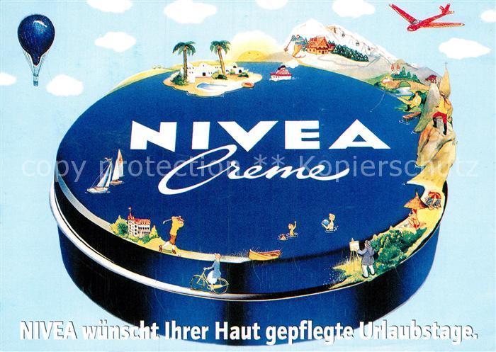 AK / Ansichtskarte Werbung Reklame Nivea Creme  Kat. Werbung