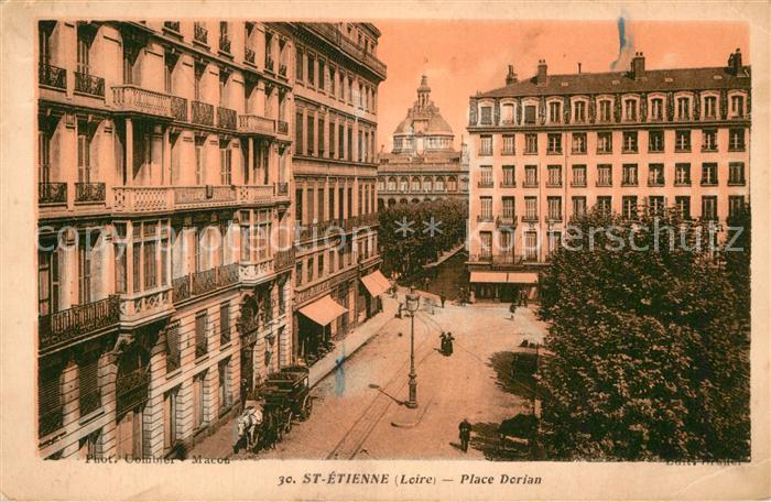 AK / Ansichtskarte Saint Etienne Loire Place Dorian Kat. Saint Etienne
