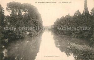 AK / Ansichtskarte Montoire sur le Loir Les Bords du Loir Kat. Montoire sur le Loir